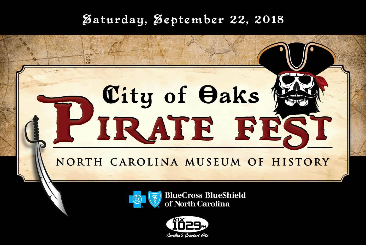 city of oaks pirate fest nc museum of history