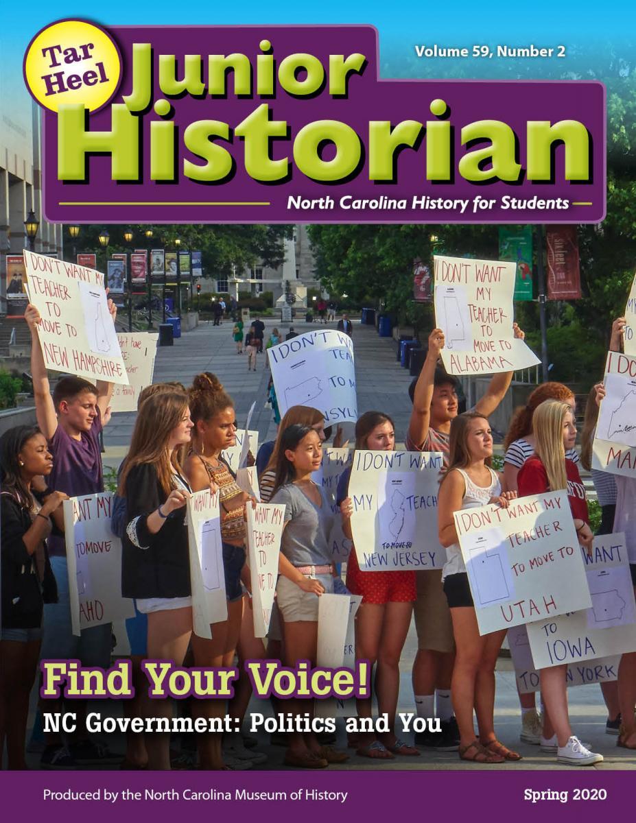 Tar Heel Junior Historian Magazine: Find Your Voice!
