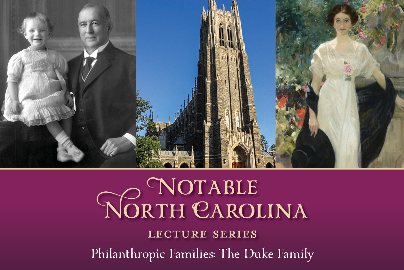 (SOLD OUT) Notable North Carolina Lecture Series ...