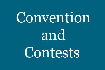 convention and contests button