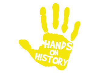 The logo for Hands on History