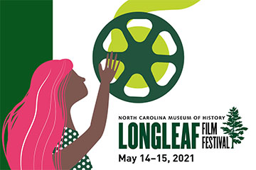 The logo for our Longleaf Film Festival