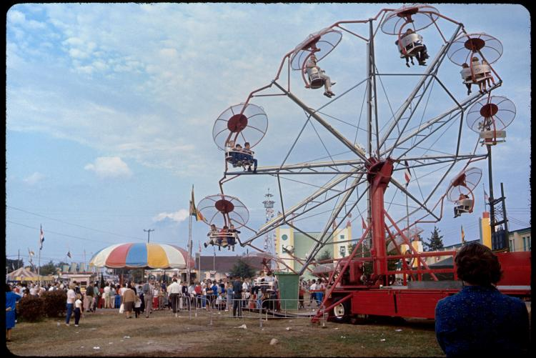 The 1965 NC State Fair in Raleigh, North Carolina