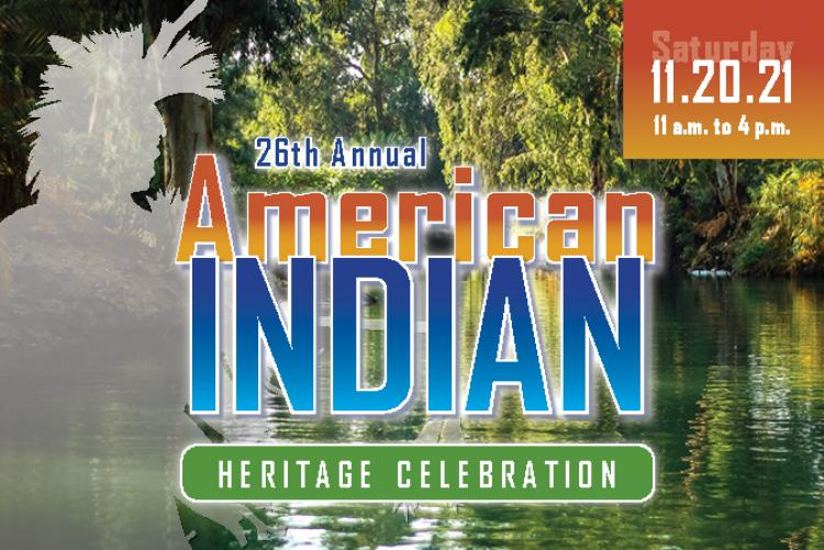 26th Annual American Indian Heritage Celebration graphic