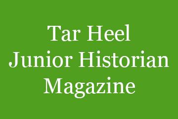 Tar Heel Junior Historian Magazine Block