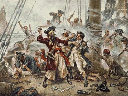 Blackbeard's Final Battle