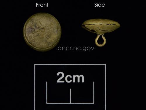Copper button from QAR site.