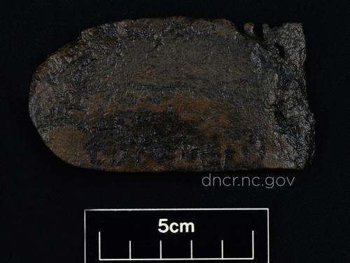 Leather shoe fragment from QAR