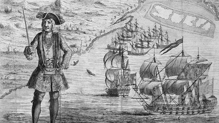 Bartholomew Roberts, a Golden Age pirate.
