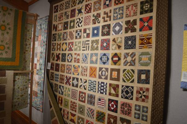 Civil War Memories quilt at the 2019 Outer Banks Community Quilt Show at Roanoke Island Festival Park