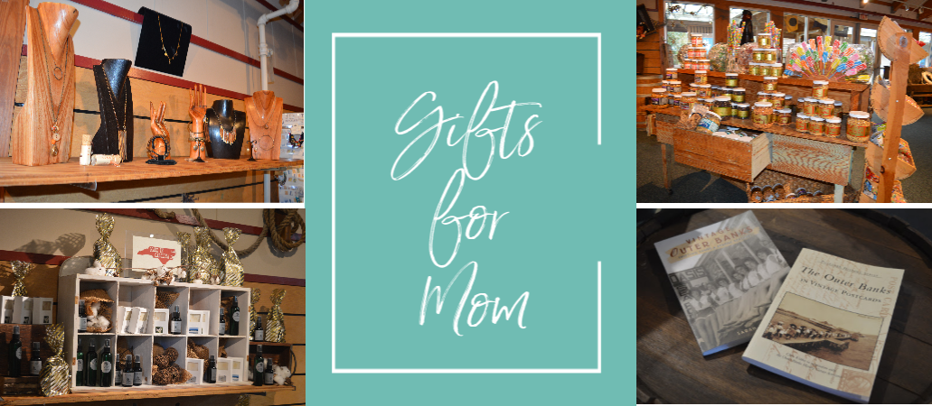 Gift items for mothers in the Museum Stores