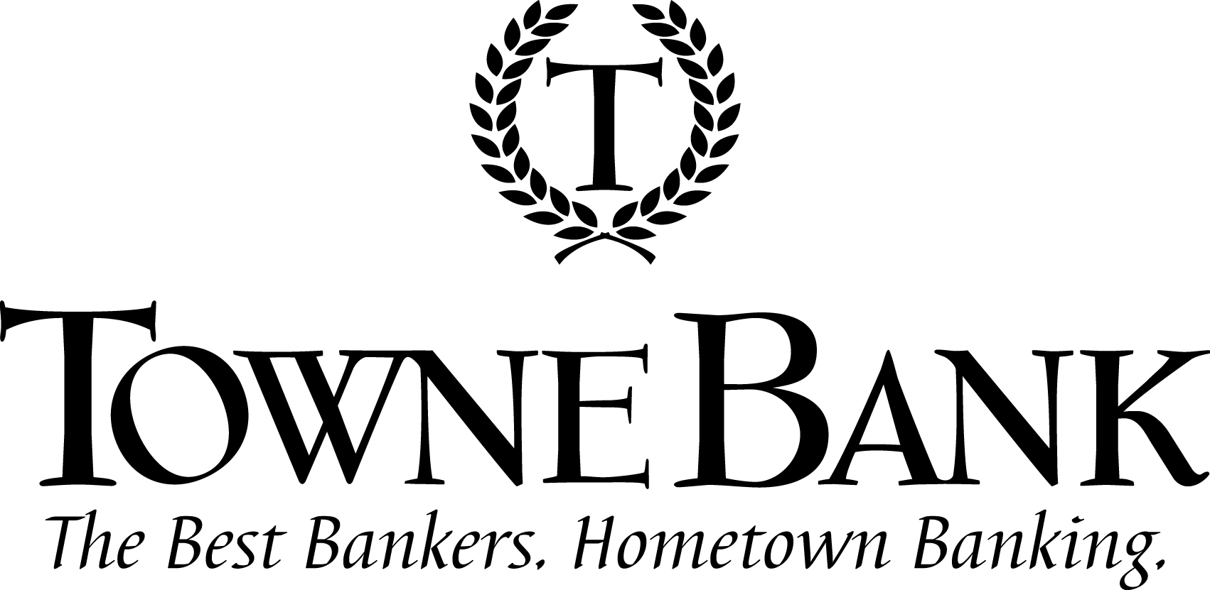 Towne Bank grey logo