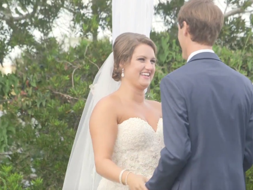 Muller wedding video at Roanoke Island Festival Park