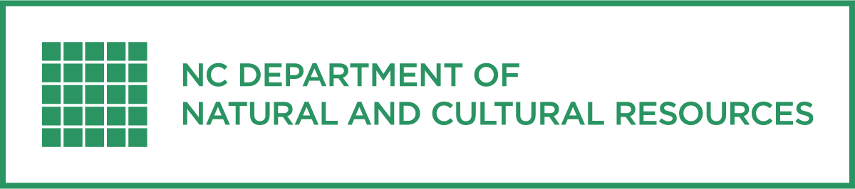 North Carolina Department of Natural and Cultural Resources green horizontal logo