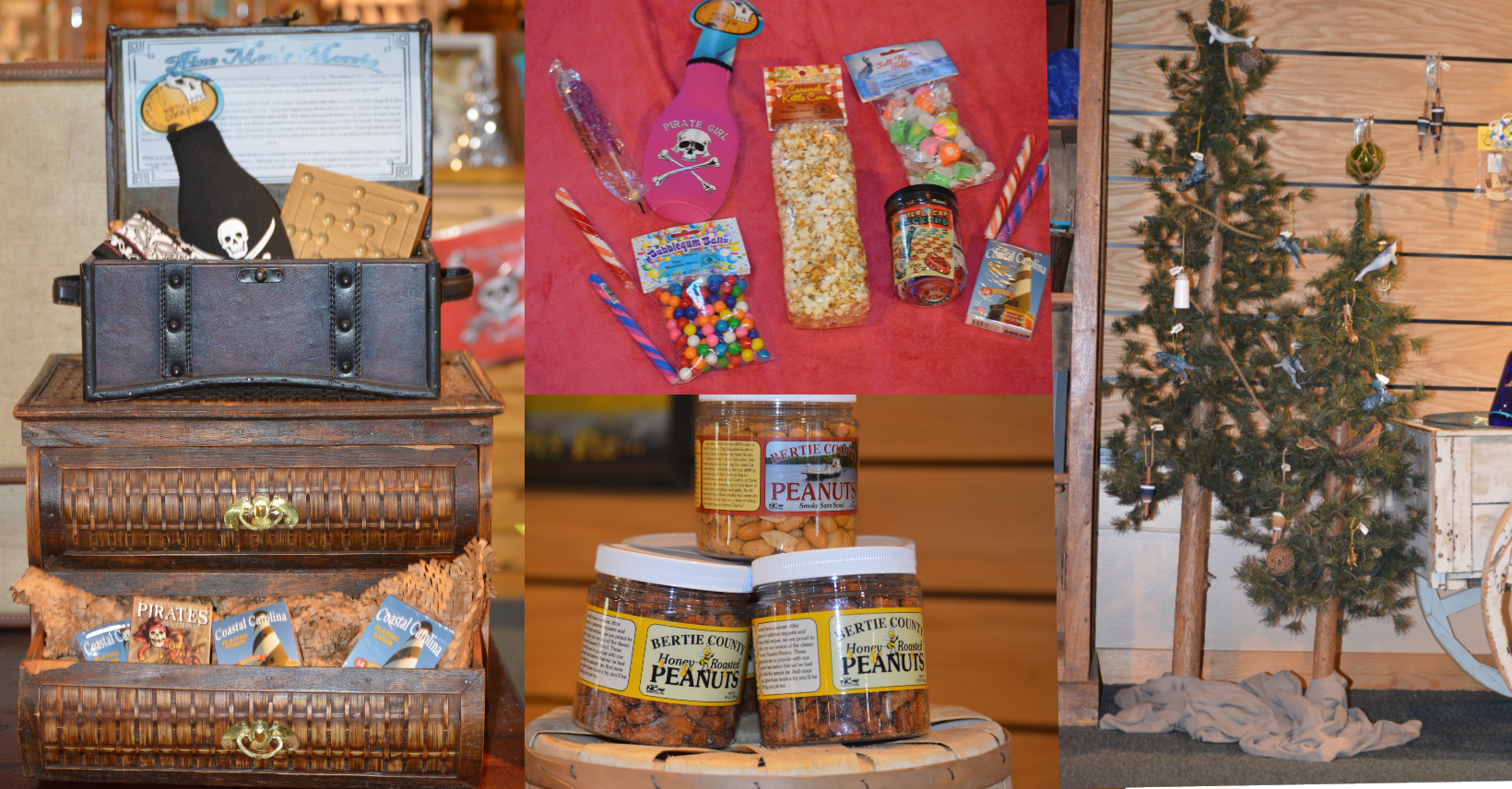 Gift items in the Museum Stores at Roanoke Island Festival Park