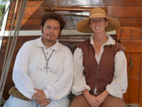 Historic interpreters at Roanoke Island Festival Park