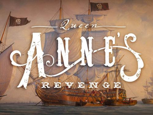 Queen Anne's Revenge exhibit at Roanoke Island Festival Park