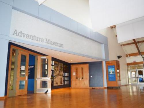 Front entrance to the Adventure Museum at Roanoke Island Festival Park