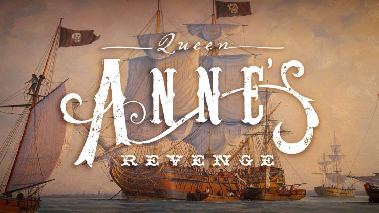 Queen Anne's Revenge exhibit at Roanoke Island Festival Park