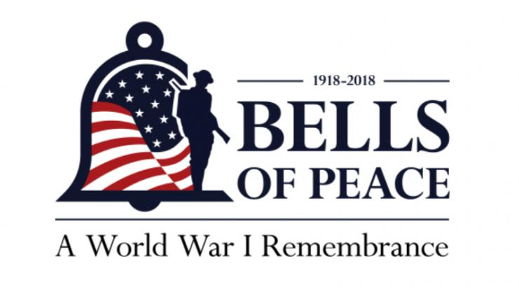 Bells of Peace Armistice Day graphic