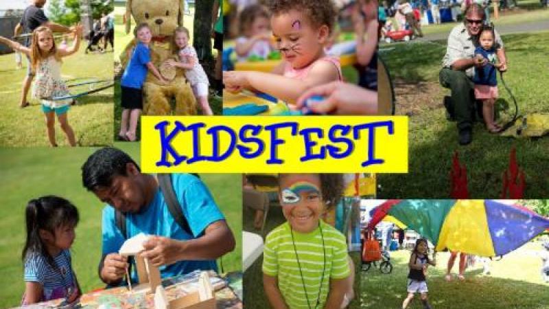 KidsFest activities at Roanoke Island Festival Park