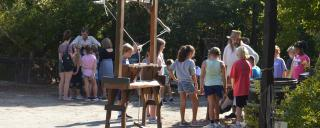Group and school tours at Roanoke Island Festival Park