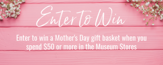 May promotions in the Museum Stores at Roanoke Island Festival Park