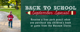 Back to school sales at the Museums Stores at Roanoke Island Festival Park