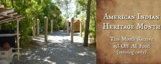 American Indian Heritage Month Museum Shop Promo