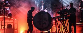 Concert at Roanoke Island Festival Park's Pavilion Stage