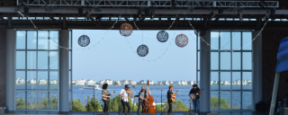 Bluegrass Concert at Roanoke Island Festival Park's Pavilion Stage