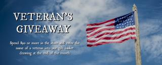 Veteran's Day Giveaway in the Museum Stores