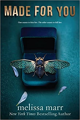 book jacket featuring an open box with a jewel insect inside