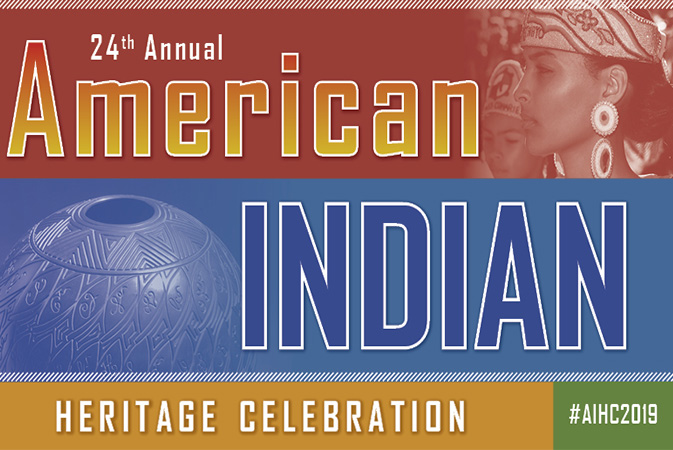 North Carolina's Museum of History's 24th Annual American Indian Heritage Celebration graphic