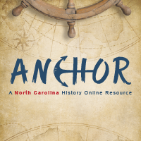 A North Carolina History Online Resource, also known as ANCHOR kogo