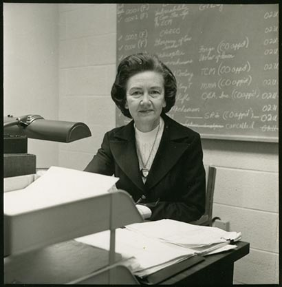 Photograph of Grace Collins Boddie, 1970.