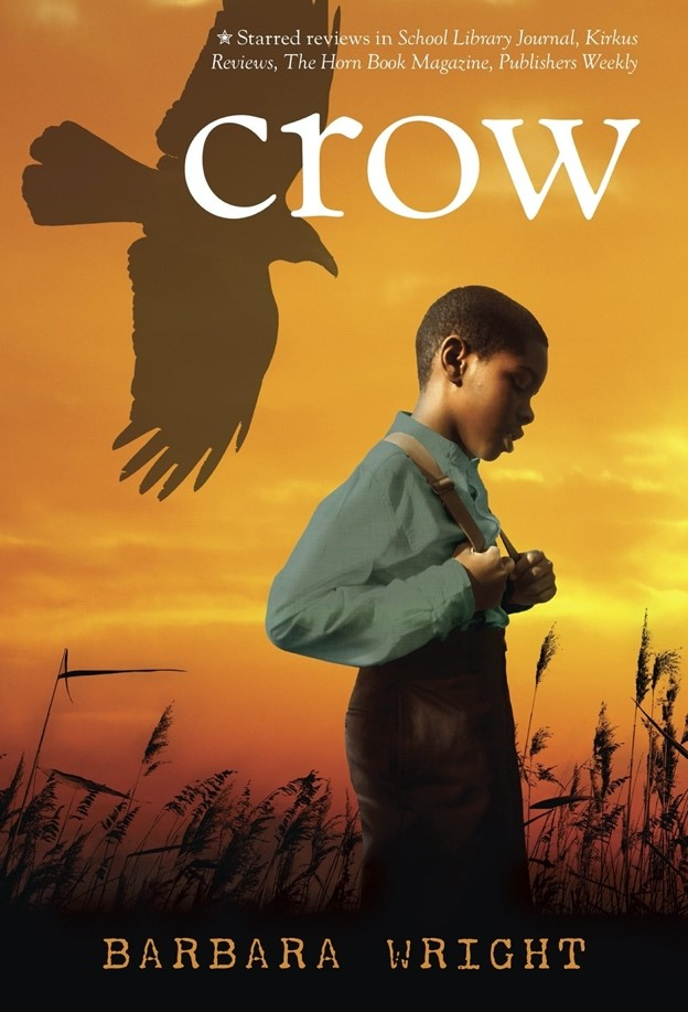 Book jacket of the book, Crow by Barbara Wright