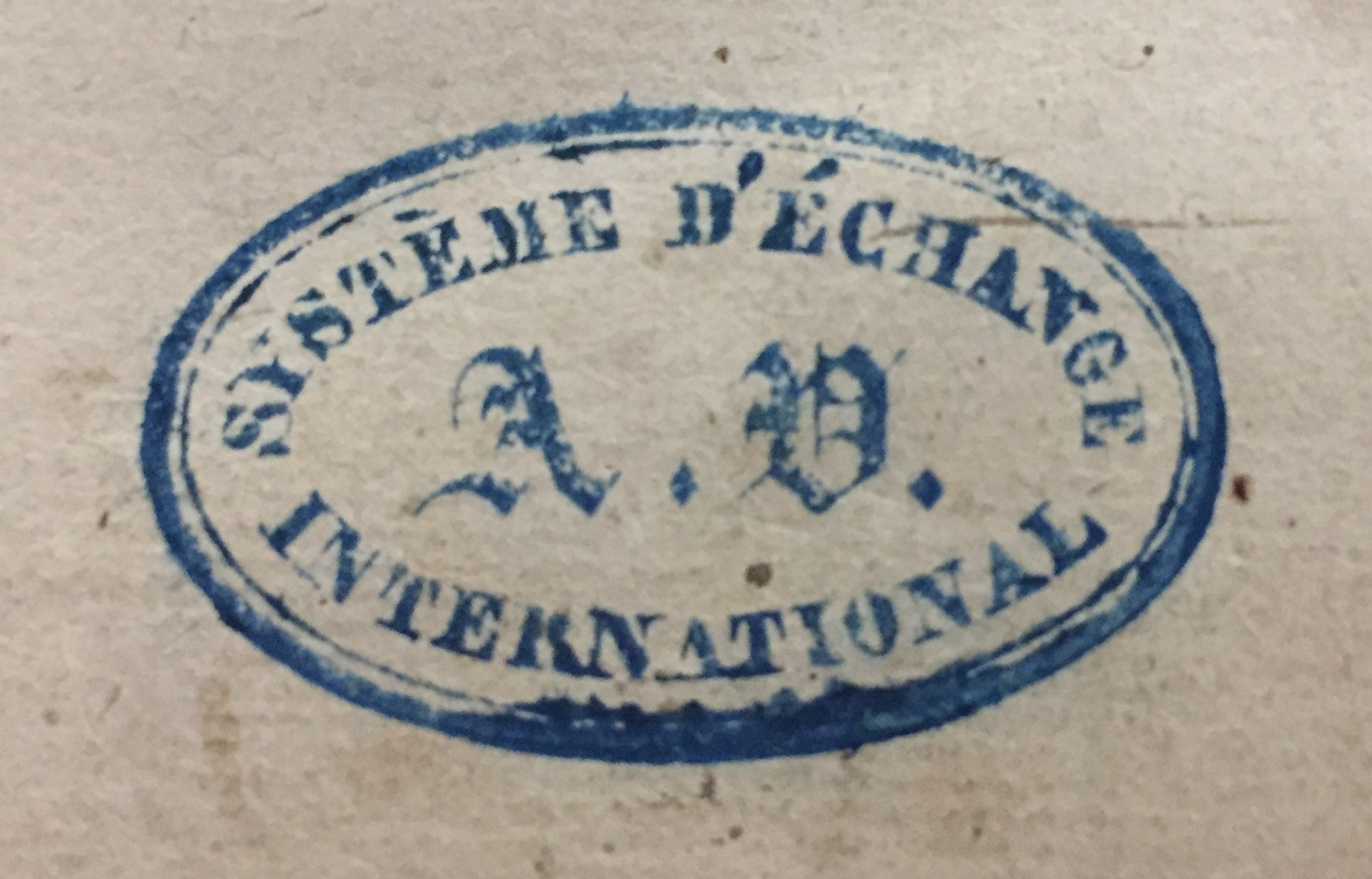 Official Systeme D'Exchange International stamp