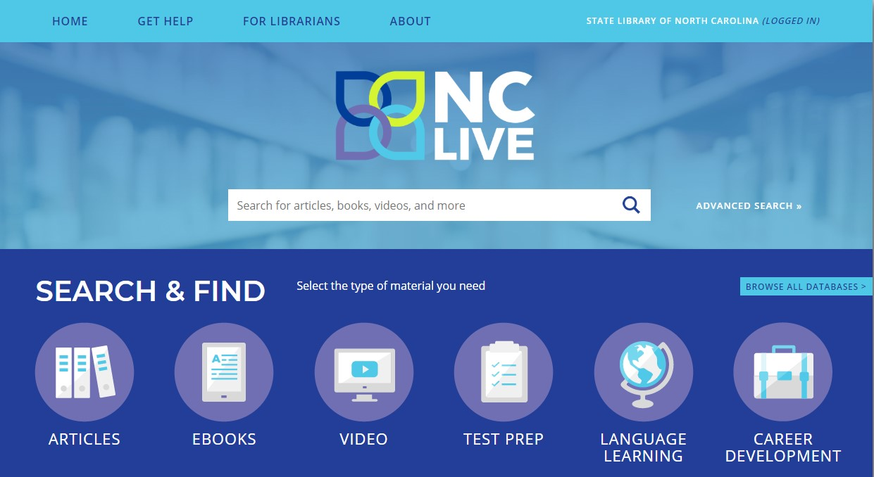 NC Live Search and Find