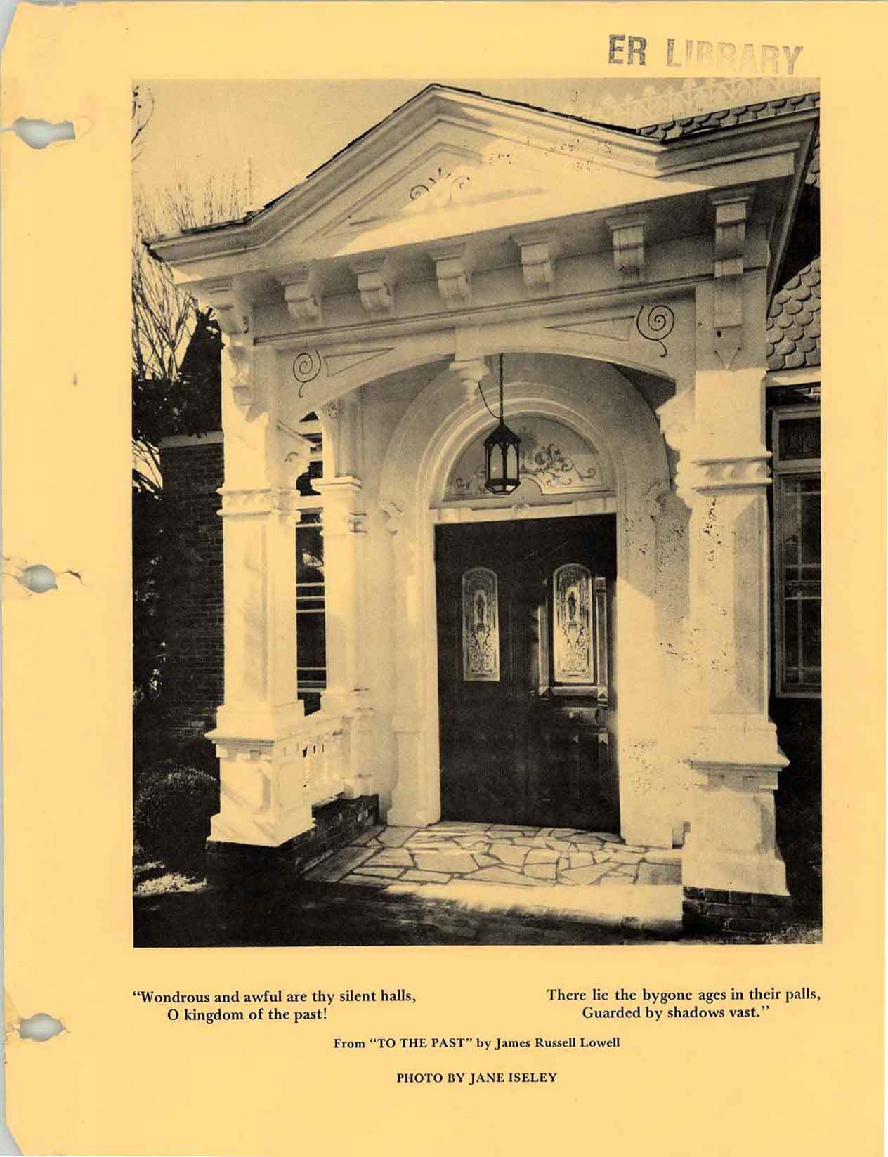 Cover of Alamance County architectural heritage, 1980