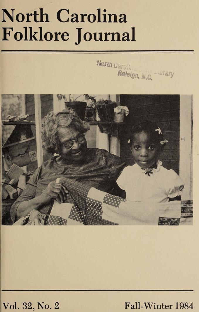 Quiltmaker Lillie Lee with a great-granddaughter, Chatham County, N.C., 1984. Photograph by Mary Anne McDonald