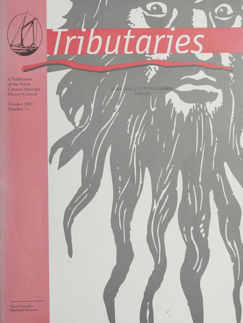Cover of the October 2001 issue of the journal, Tributaries