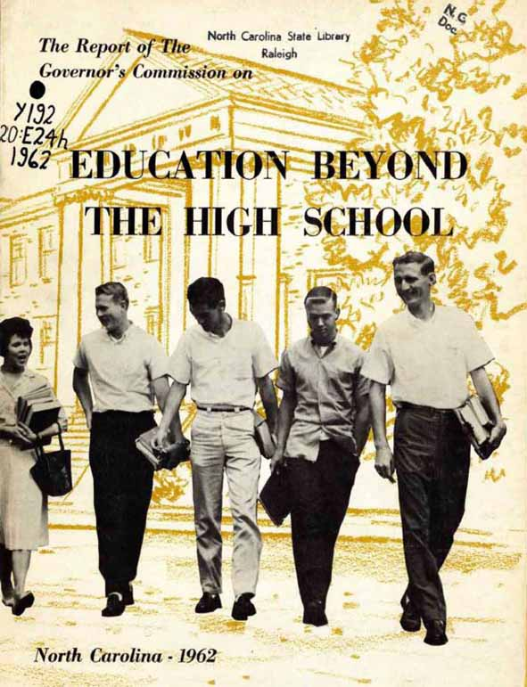 Cover of The Report of the Governor's Commission on Education Beyond the High School