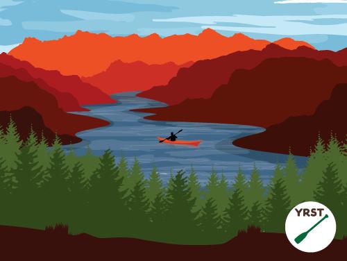 Yadkin River State Trail poster