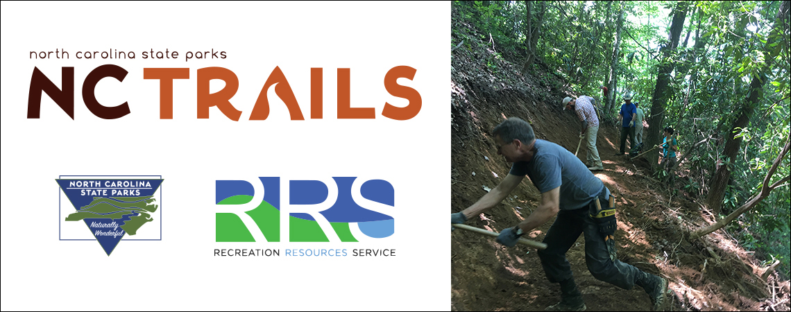 2018 Trails Summit, sponsored by the North Carolina Division of Parks and Recreation and the Recreation Resources Service