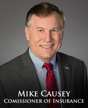 Insurance Commissioner Mike Causey