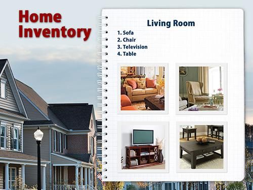Before the Storm - Home Inventory