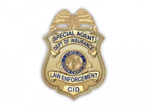 Criminal Insurance Investigation Badge