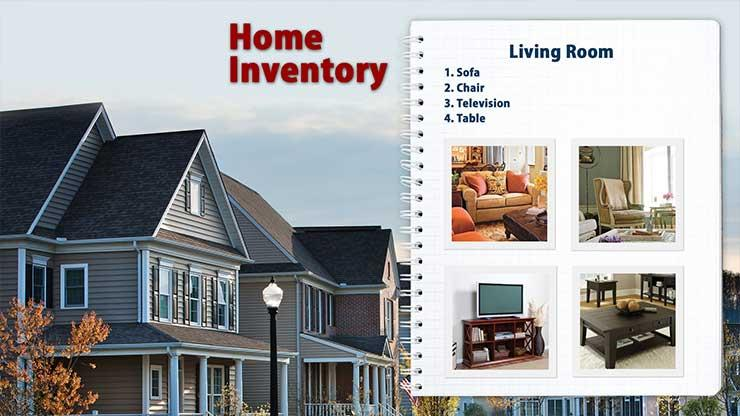 Home Inventory Graphic