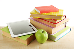 Textbooks-Print and Device, Apple